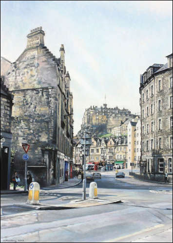 Towards the Grassmarket